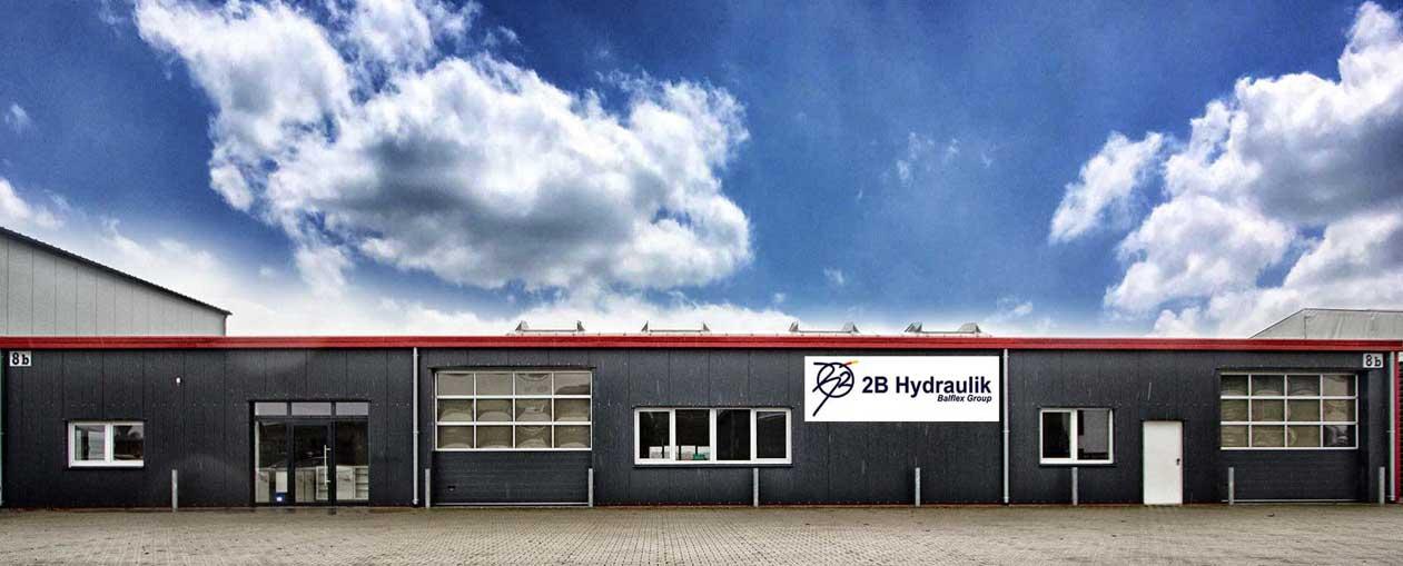 2B Hydraulik Firmengebäude